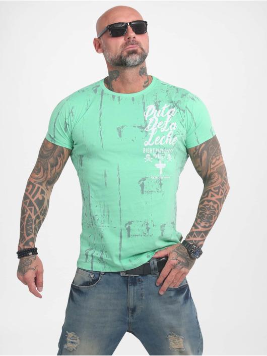 Yakuza T-Shirt Puta De La Leche türkis
