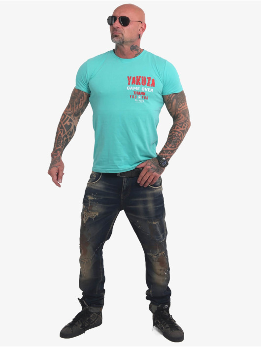 Yakuza T-Shirt Game Over türkis