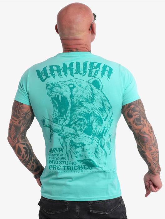 Yakuza T-Shirt Beast V02 türkis