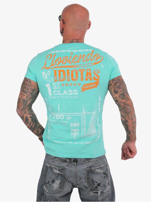 Yakuza T-shirt Lloviendo turkos