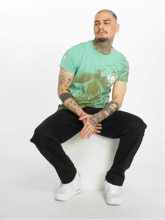 Yakuza t-shirt Cyber Death turquois