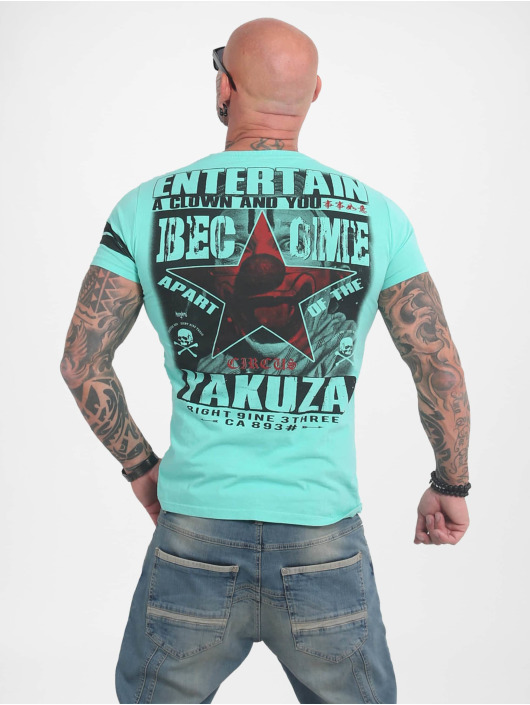 Yakuza T-Shirt Entertain turquoise