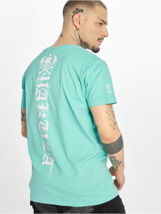 Yakuza T-Shirt Own Head turquoise