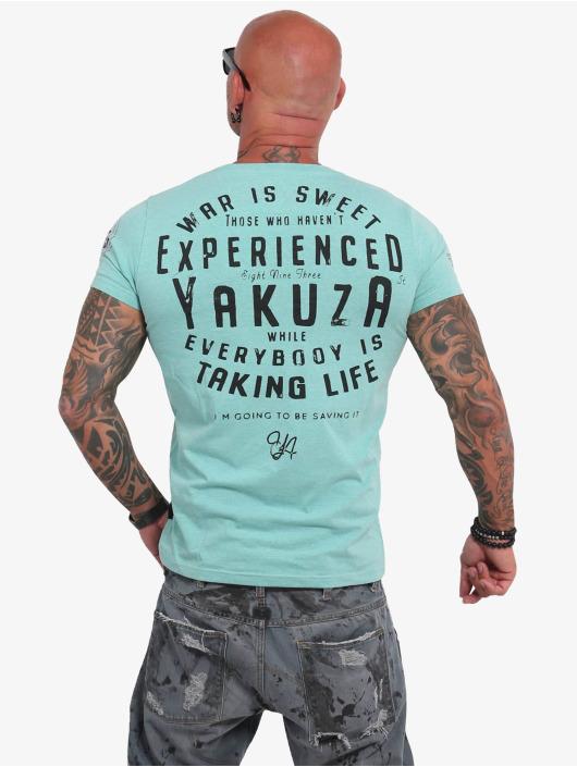 Yakuza T-Shirt Sweet War turquoise