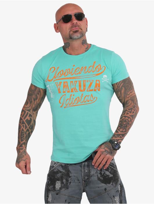Yakuza T-Shirt Lloviendo turquoise