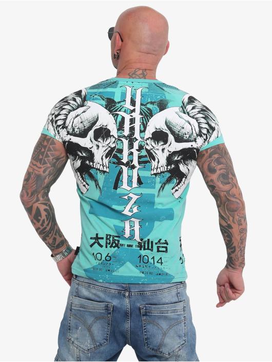 Yakuza T-Shirt Sick Nippon turquoise