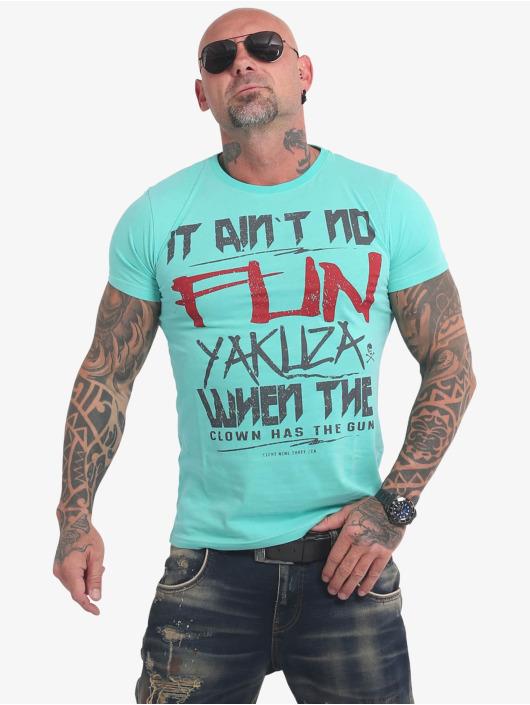 Yakuza T-Shirt No Fun turquoise
