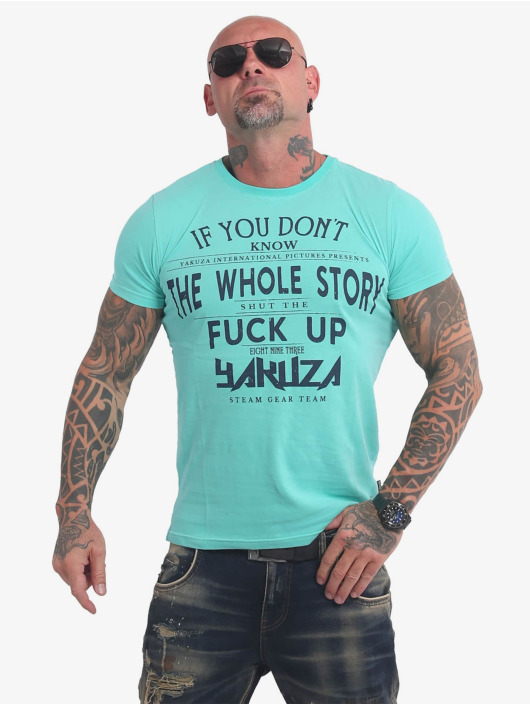 Yakuza T-Shirt XXX Shop turquoise