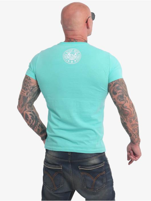 Yakuza T-Shirt Inner Circle turquoise