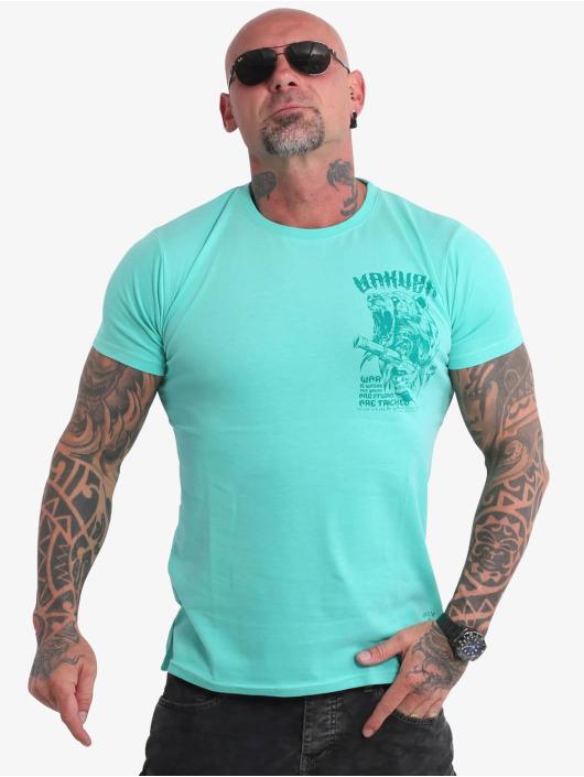 Yakuza T-Shirt Beast V02 turquoise