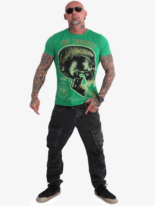 Yakuza T-Shirt Fcku vert
