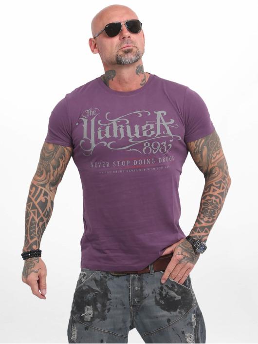 Yakuza T-Shirt Never Stop violet