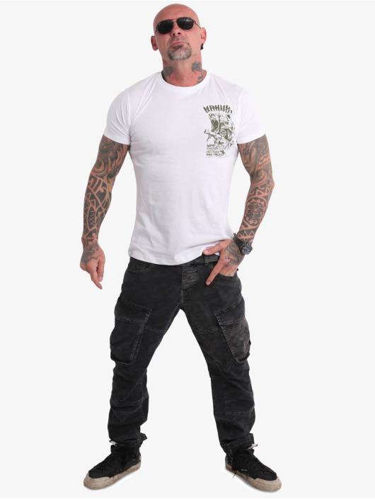 Yakuza T-shirt Beast V02 vit