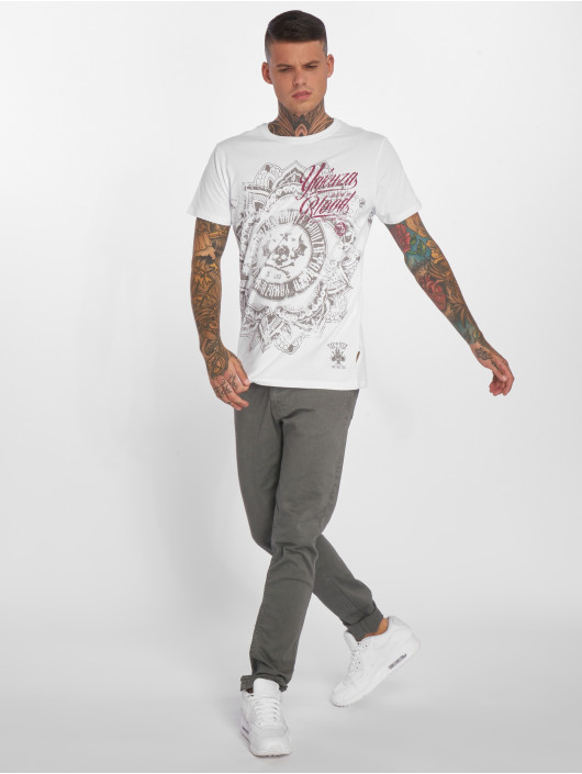 Yakuza T-Shirt Inked in Blood weiß