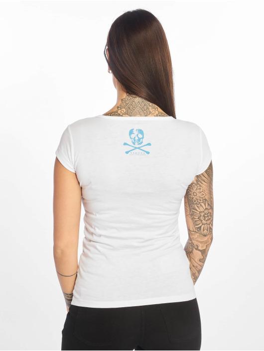 Yakuza T-Shirt Burried V-Neck weiß