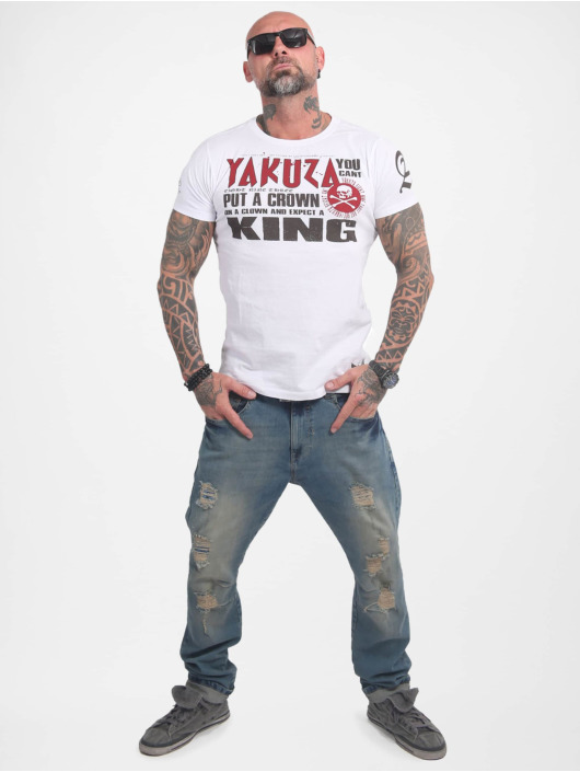 Yakuza T-Shirt Dead Punk weiß