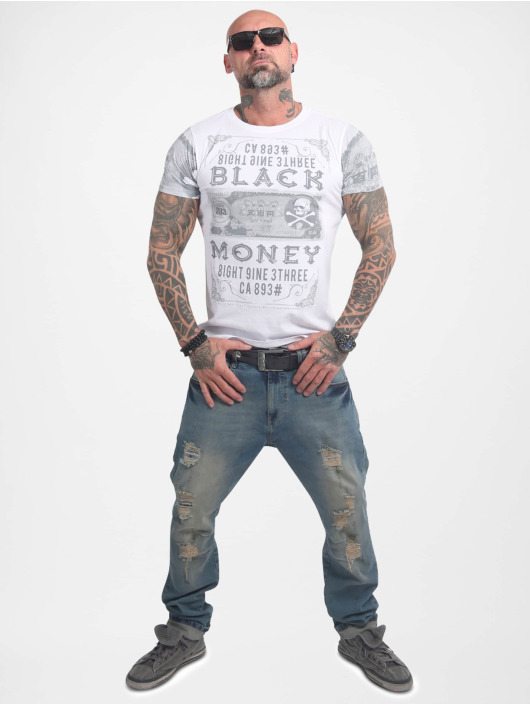 Yakuza T-Shirt Black Money weiß