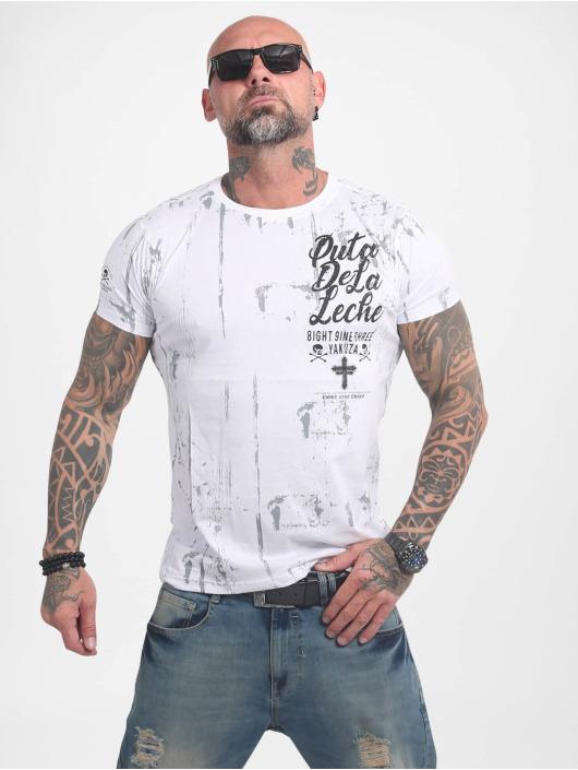 Yakuza T-Shirt Puta De La Leche weiß