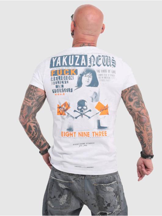 Yakuza T-Shirt News weiß