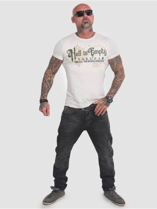 Yakuza T-Shirt Hell Is Empty weiß