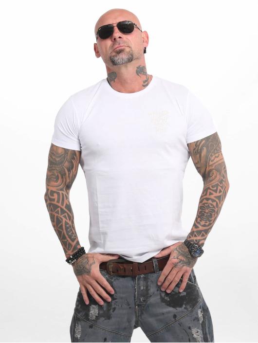 Yakuza T-Shirt Basic Line 4W weiß