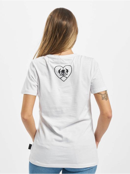 Yakuza T-Shirt Stone V Neck weiß