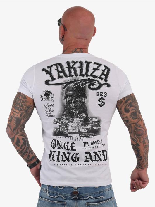 Yakuza T-Shirt King weiß