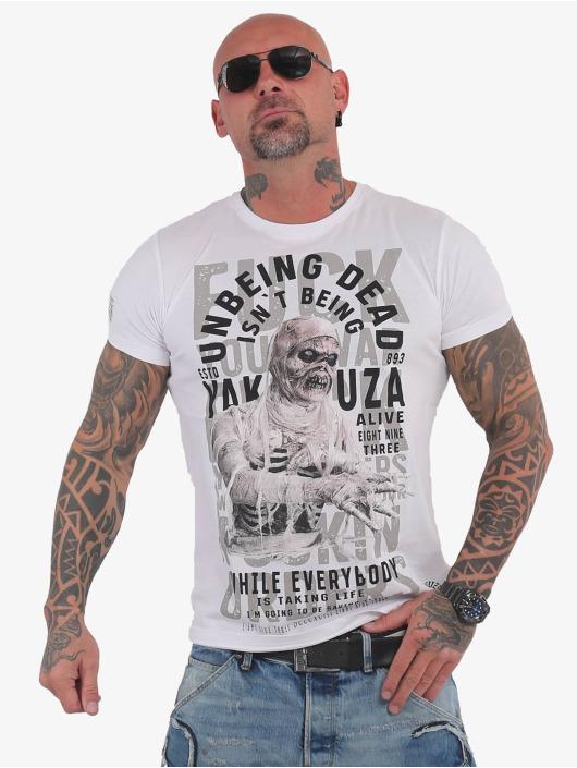 Yakuza T-Shirt Unbeing weiß