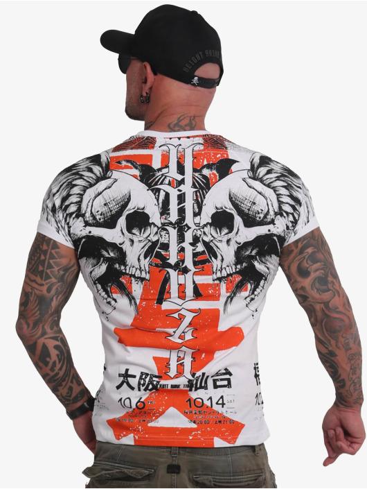 Yakuza T-Shirt Sick Nippon weiß