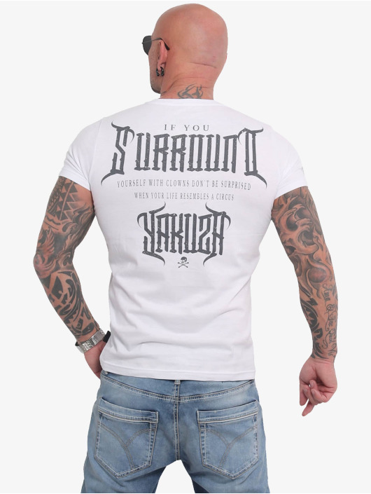 Yakuza T-Shirt Surround weiß