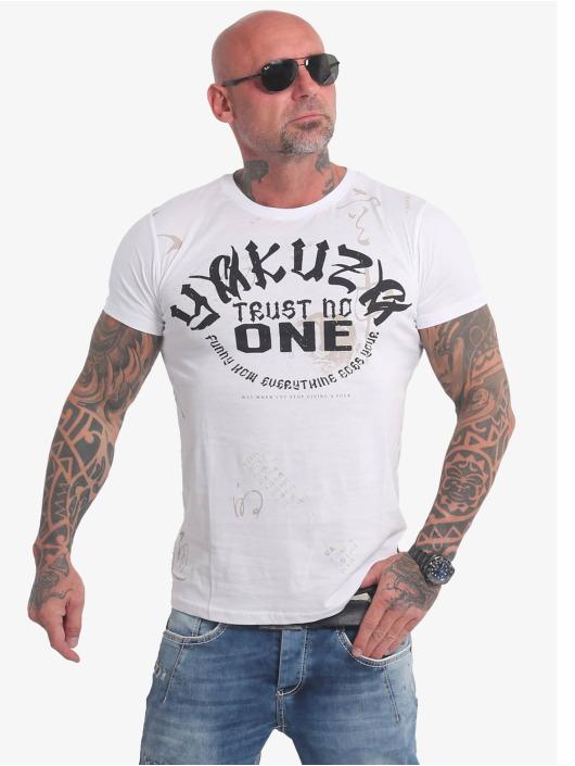 Yakuza T-Shirt Trust No One weiß