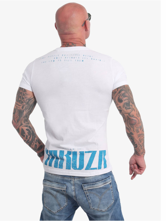 Yakuza T-Shirt Crucified weiß