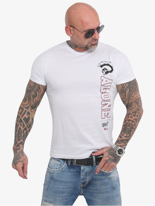Yakuza T-Shirt Bad Company weiß