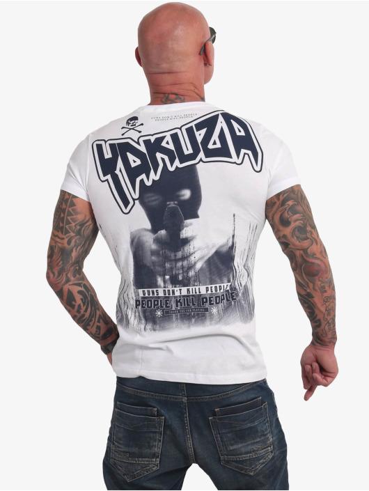 Yakuza T-Shirt Guns Vs People weiß