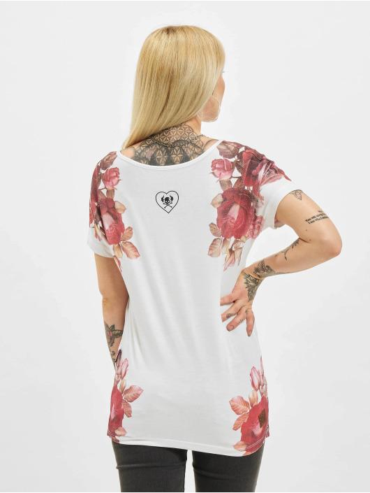 Yakuza T-Shirt Inner Peace V02 Crew weiß