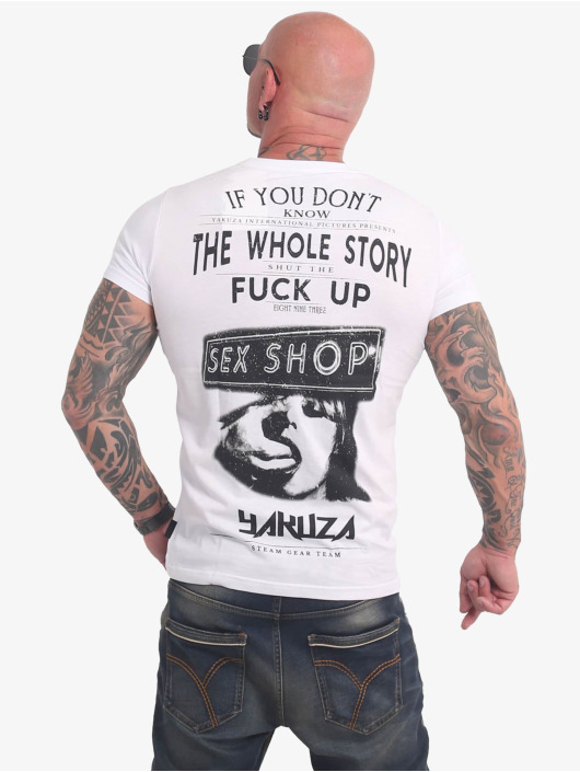 Yakuza T-Shirt XXX Shop weiß