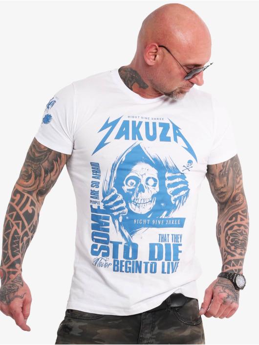 Yakuza T-Shirt Afraid To Die weiß