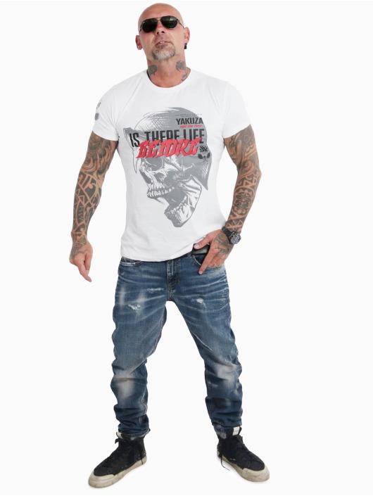 Yakuza T-Shirt Life Before weiß