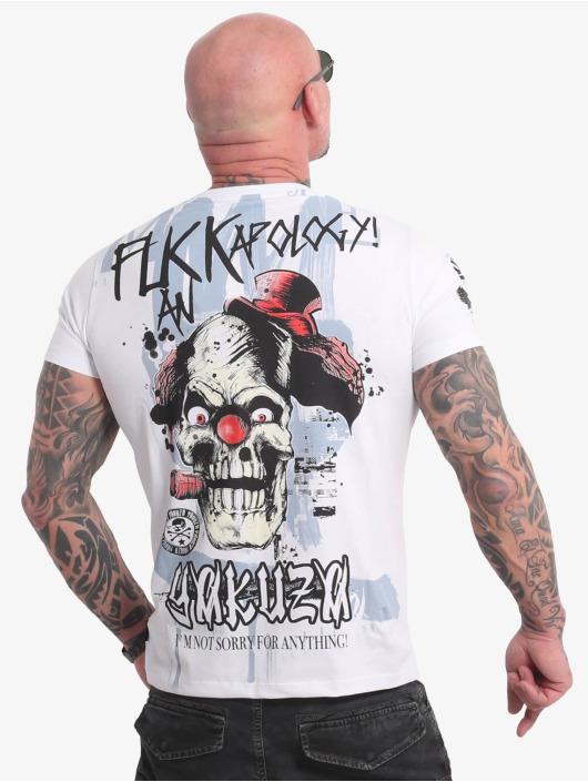 Yakuza T-Shirt Apology weiß