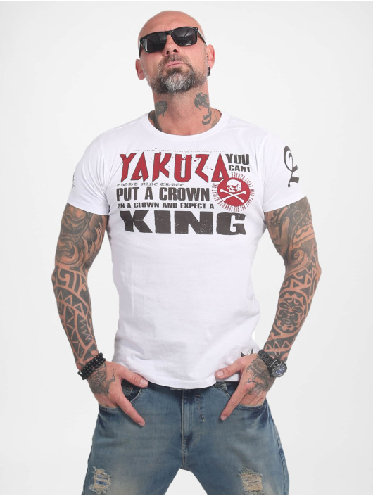 Yakuza T-Shirt Dead Punk white