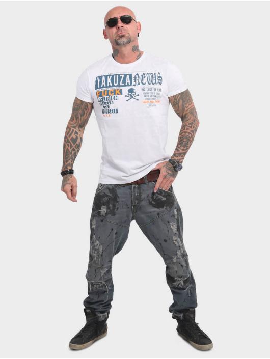 Yakuza T-Shirt News white