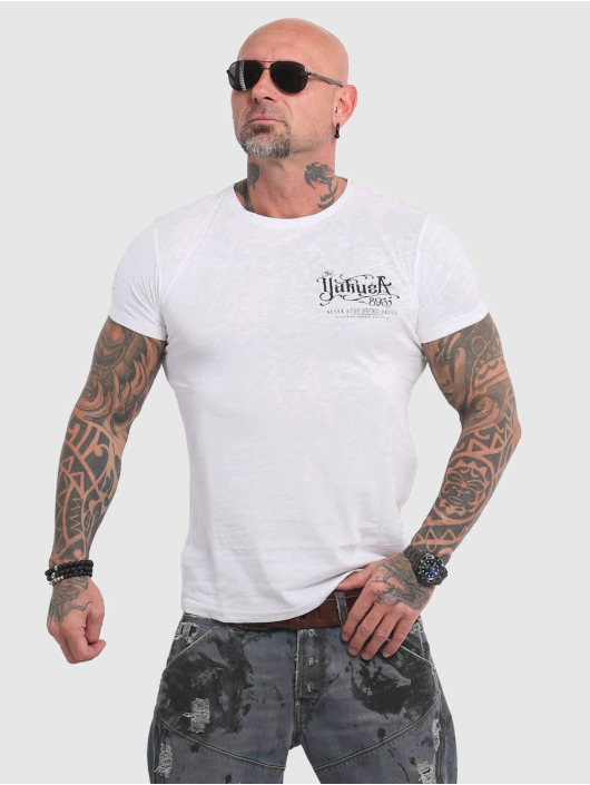 Yakuza T-Shirt Never Stop white