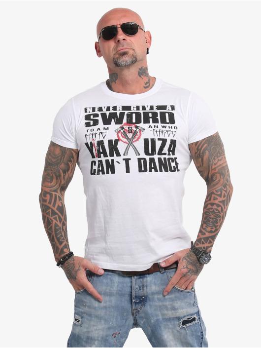 Yakuza T-Shirt Sword white