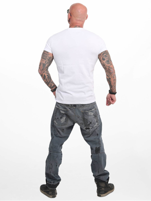 Yakuza T-Shirt Basic Line 4W white