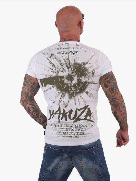 Yakuza T-Shirt Destroy A Monster white