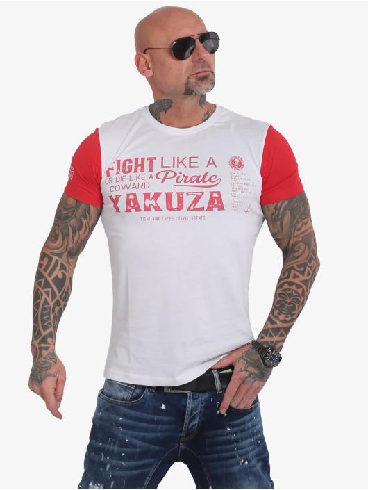 Yakuza T-Shirt Pirates Of The 893 white
