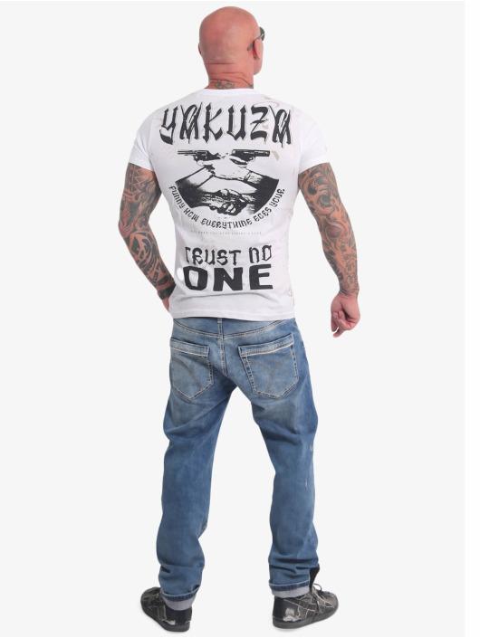 Yakuza T-Shirt Trust No One white