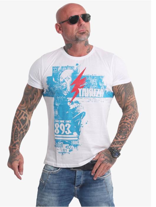 Yakuza T-Shirt Crucified white