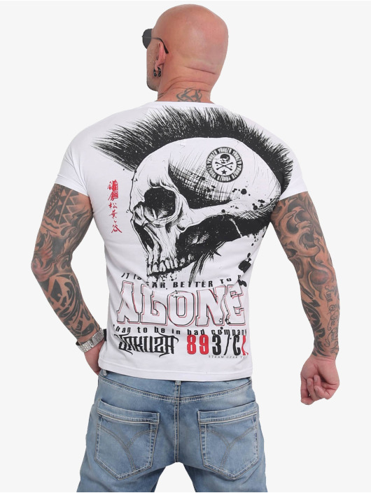 Yakuza T-Shirt Bad Company white