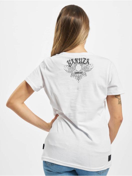 Yakuza T-Shirt My Knife V Neck white